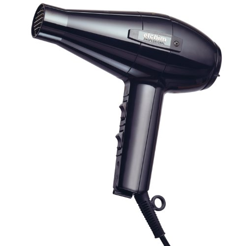 Elchim 2001HP High Pressure Hair Dryer, Black,