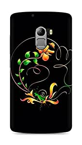 Amez designer printed 3d premium high quality back case cover for Lenovo K4 Note (Abstract Dark 22)