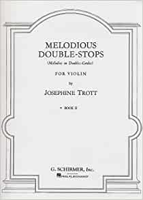 Trott melodious double stops no 9