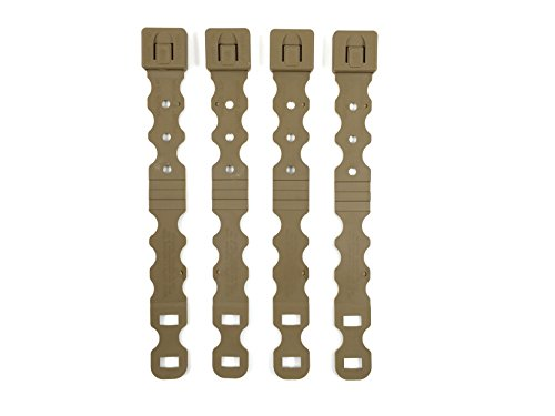 Tactical Tailor Fight Light Malice Clips - 4 pack (Short) (Coyote) (Malice Clips compare prices)