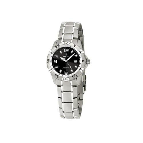 FESTINA F16172/7 - Reloj de mujer de cuarzo, correa de acero inoxidable