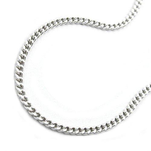 ankle chain, curb chain, silver 925 27cm-27