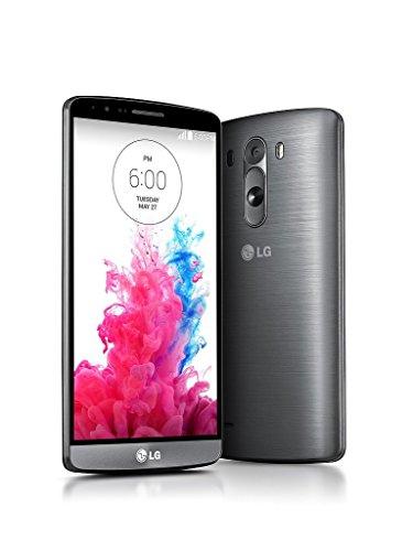 LG G3 Dual Sim D858 32GB (FACTORY UNLOCKED) international model no warranty - Black