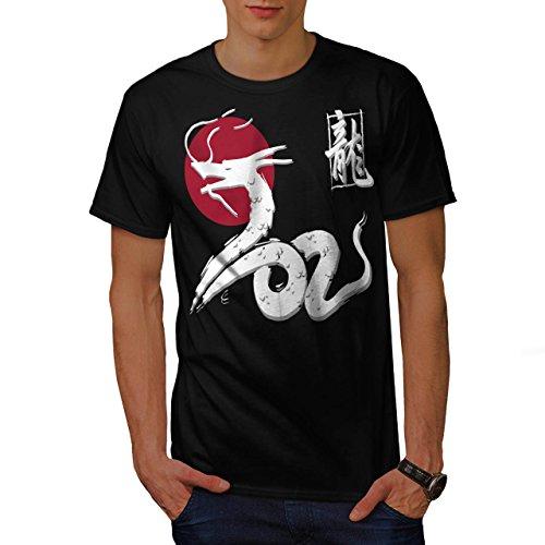 drachen-legende-japan-mythos-tier-herren-neu-schwarz-m-t-shirt-wellcoda
