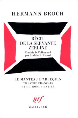 Récit de la servante Zerline