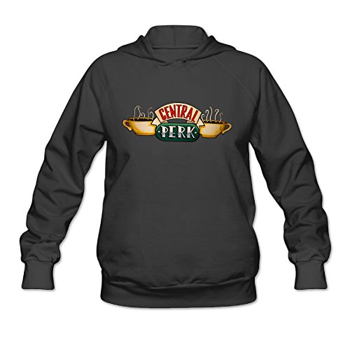 Custom Womens Logo Pullover Hoodie Central Perk Logo (Central Perk Jacket compare prices)