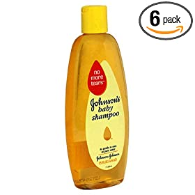 Johnson's Baby Shampoo, 15-Ounce Bottles (Pack of 6)