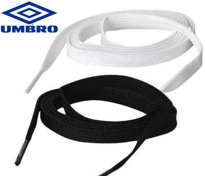 Umbro Sports Laces Black & White