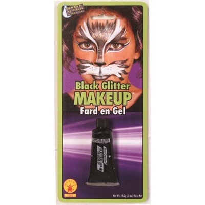 Rubie's Costume Co Glitter Gel Makeup, Green, Green - 1