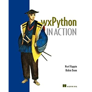wxPython in Action book cover