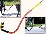 Bike Tow Leash Dog Bicycle Attachment - Yellow