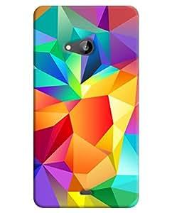 Microsoft Lumia 535 Back Cover By FurnishFantasy