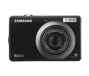 Samsung PL60 Digitalkamera (10 Megapixel, 5-fach opt. Zoom, 6,9 cm (2,7 Zoll) Display, dualer Bildstabilisator) schwarz