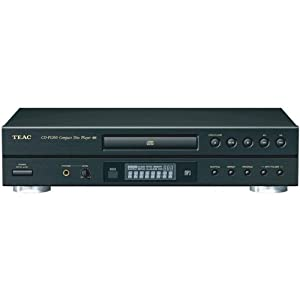 TEAC CD-P1260 CD Player with LCD and MP3 Playback