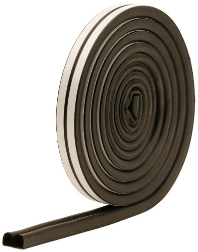 M-D Building Products 1025 All-Climate Auto and Marine 17-Feet Weather Seal Strip, Black (Adhesive Weatherstrip Door compare prices)