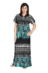 Vimal Fashion Cotton Multi Colour Printed Night Wear / Nightgown / Women Sleepwear / Womans Pyjamas