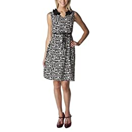 Product Image Merona® Collection Women's Shelby Printed Dress - Black/White