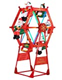 5' Rotating Christmas Ferris Wheel w/ Characters by Gemmy