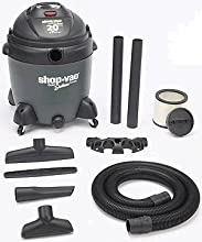 Shop-Vac 5862000 20-Gallon 6 5-Peak HP Quiet Deluxe Series Wet Dry Vacuum