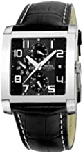 Comprar FESTINA F16235/F - Reloj de caballero de cuarzo, correa de piel color negro