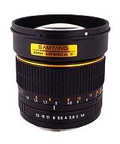 Samyang SY85M-O 85mm F1.4 Lens for Olympus