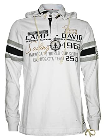 camp david men designer sweater hoodie sailing cup 3 m. Black Bedroom Furniture Sets. Home Design Ideas