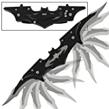 WarTech USA Batman Knife with Dual Assist Open Blades