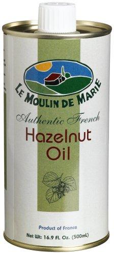 Le Moulin de Marie Hazelnut Oil, 16.9-Ounce Cans (Pack of 2)