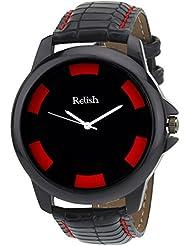 Relish Analog Black Dial Men's Watch Relish-516