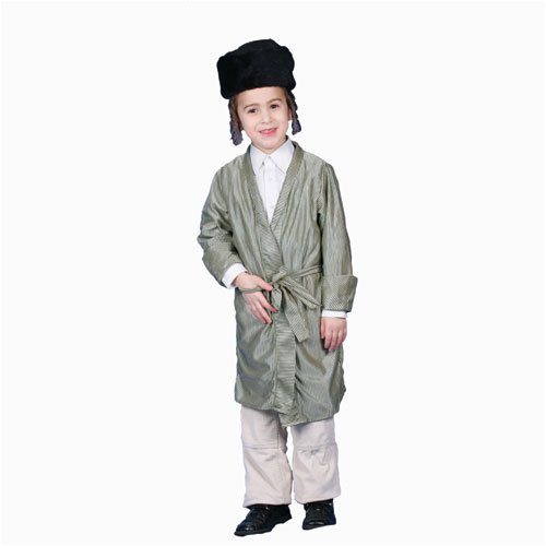 Jewish Rabbi Costume Set - X-Large 16-18
