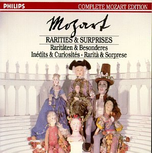 Mozart: Rarities & Surprises Mozart Edition V45 by Wolfgang Amadeus Mozart, Neville Marriner and Academy of St. Martin in the Fields
