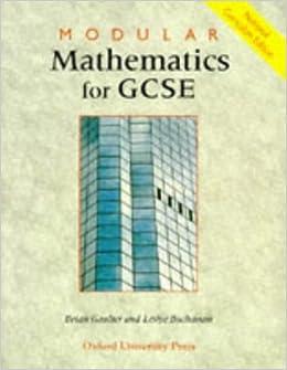 Modular Mathematics for GCSE: National Curriculum Edition