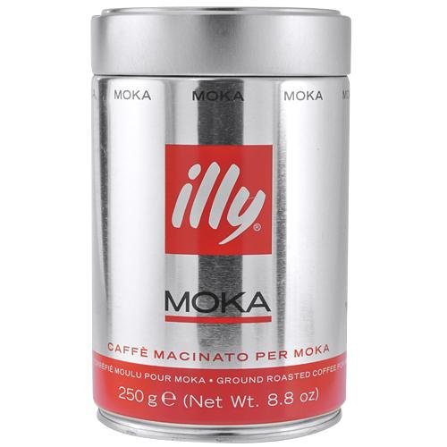 Illy Ground Coffee, Moka