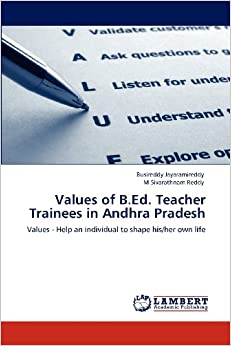 Values of B.Ed. Teacher Trainees in Andhra Pradesh: Values - Help an