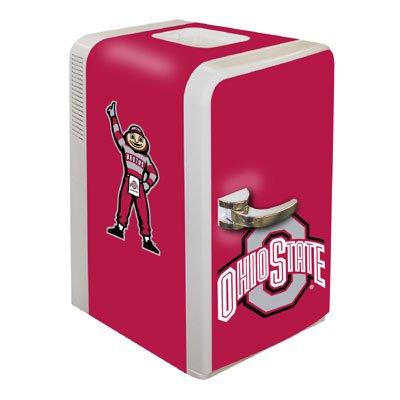 Ncaa Ohio State Buckeyes Portable Party Fridge, 15-Quart front-498425
