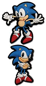 Sonic the Hedgehog: Sneak and Pose Sonic Anime Pins