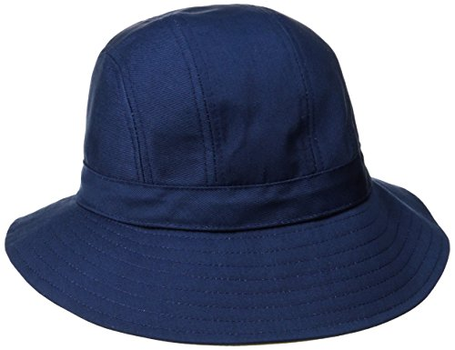 physician-endorsed-womens-b-zee-100-percent-cotton-two-tone-packable-hat-rated-upf-50-navy-khaki-one