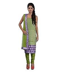 Mumtaz Sons Women's Cotton Unstitched Dress Material (MS111441D,Mehndi)
