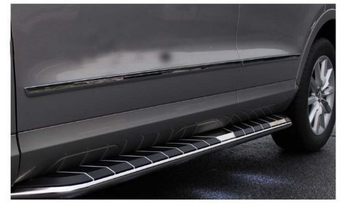 Auto Stainless Steel Body Door Side Molding Trim Chrome 4pcs fit for audi Q3 2012 2013