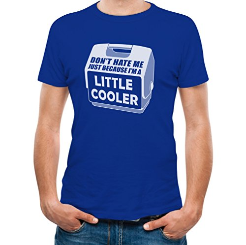 Don'T Hate Me Just Because I'M A Little Cooler Blue X-Large T-Shirt