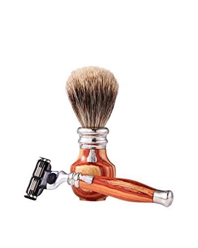 Laguiole en Aubrac Rosewood Shaving Set