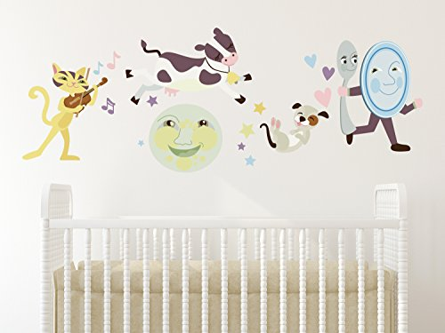 Sunny Decals Nursery Rhyme Fabric Wall Decal - 1