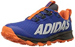 adidas Performance Vigor 6 TR K Trail Shoe (Little Kid/Big Kid),Collegiate Royal/Orange/Dark Grey,13.5 M US Little Kid