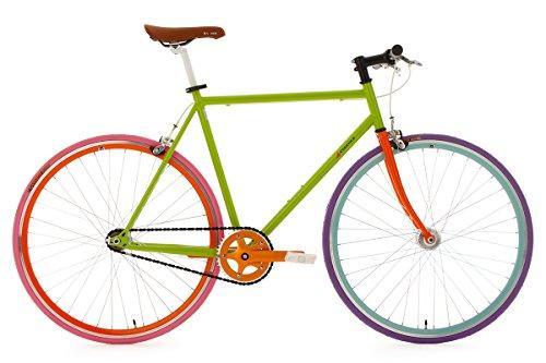 KS-Cycling-Fahrrad-Fixie-Fitnessbike-Essence-RH-56-cm-Grn-28-300R