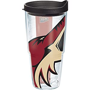 Tervis Tumbler NHL Phoenix Coyotes Colossal Wrap 24oz with Travel Lid
