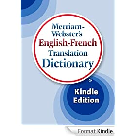 Merriam-Webster's English-French Translation Dictionary