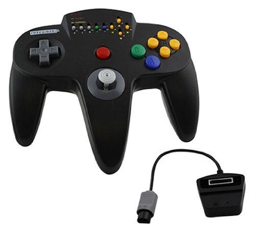Nintendo N64 Hypermode Wireless Controller - Black