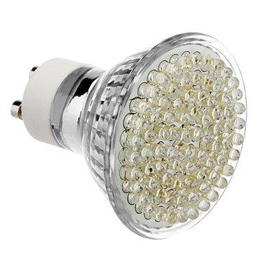 Gu10 5W 80-Led 320-360Lm 6000-6500K Natural White Light Led Spot Bulb (230V)