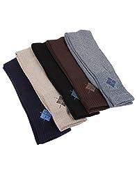 Mikado Multi Colour Cotton Full Length Sports Socks for Men - 10 Pair Pack