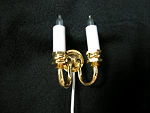 Heidi Ott Dollhouse Miniature 1:12 Scale Light Wall Lamp #YL2002